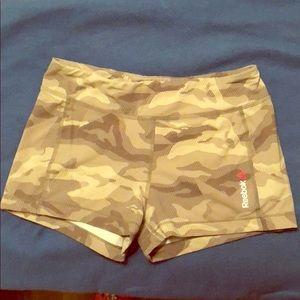 Reebok Camo Crossfit Shorts Size Medium